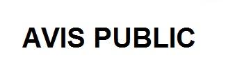 AVIS PUBLIC acymailing
