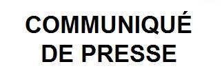 Communique de presse2