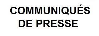 Communiques de presse