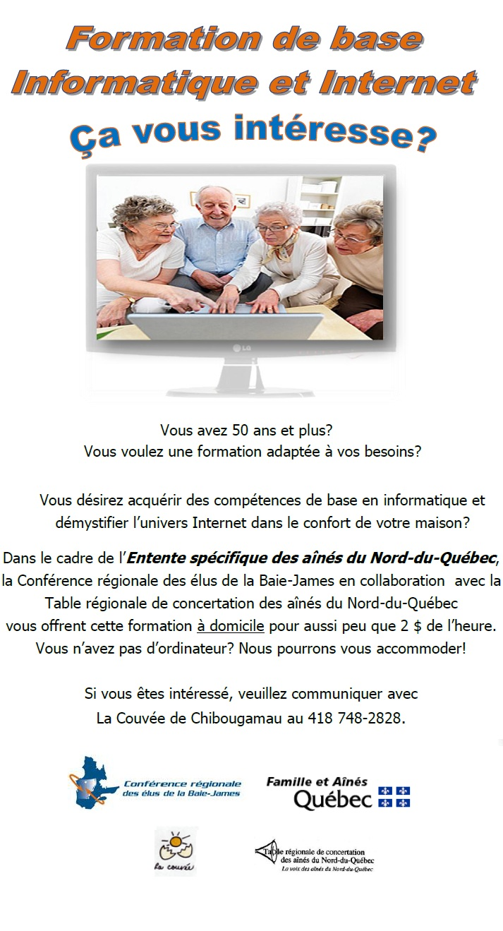 Formation de base en informatique